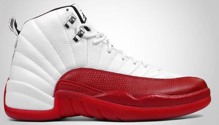ジョーダン12 白赤