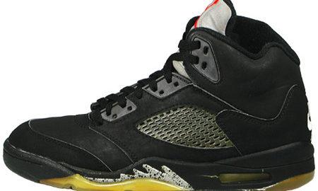 ジョーダン5 黒