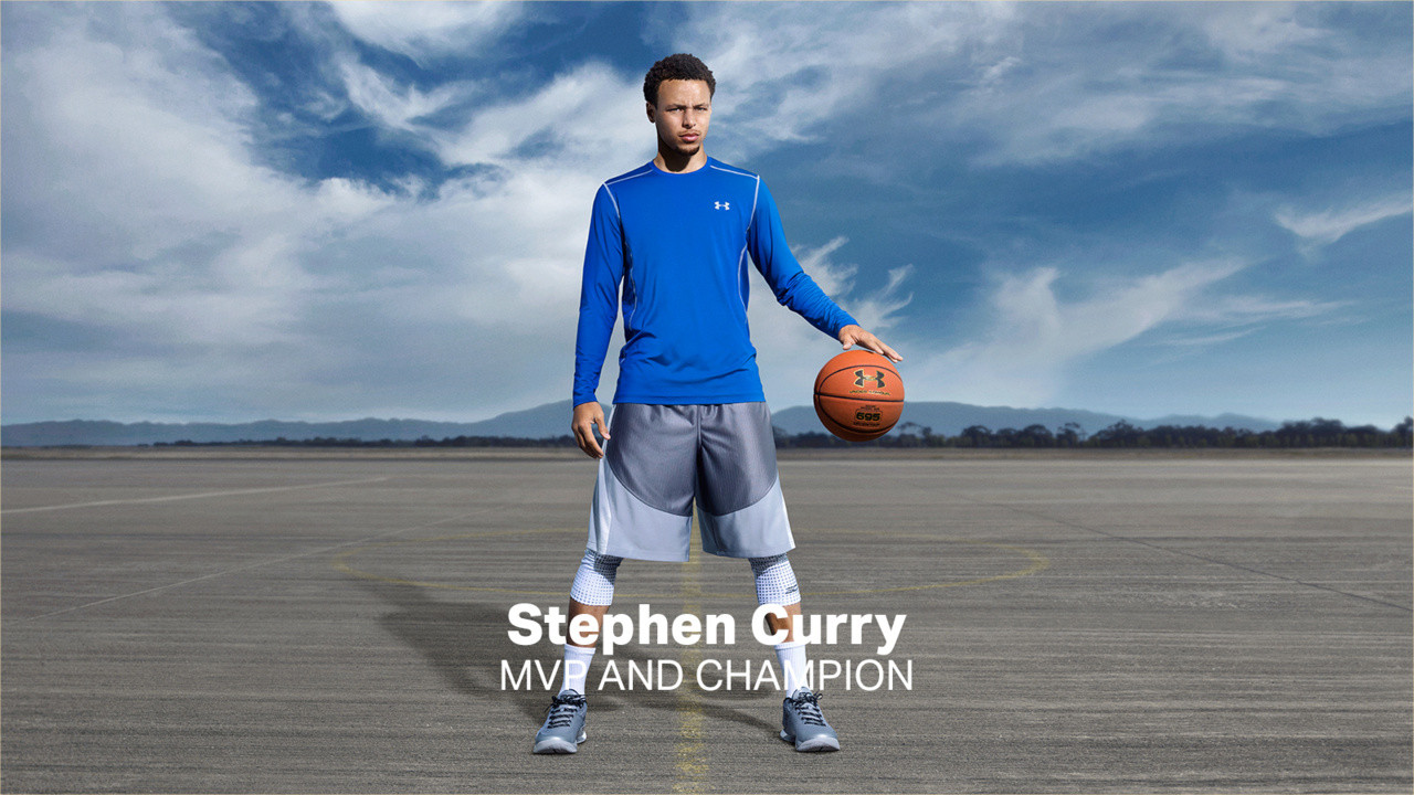 UNDER ARMOUR CURRY AD