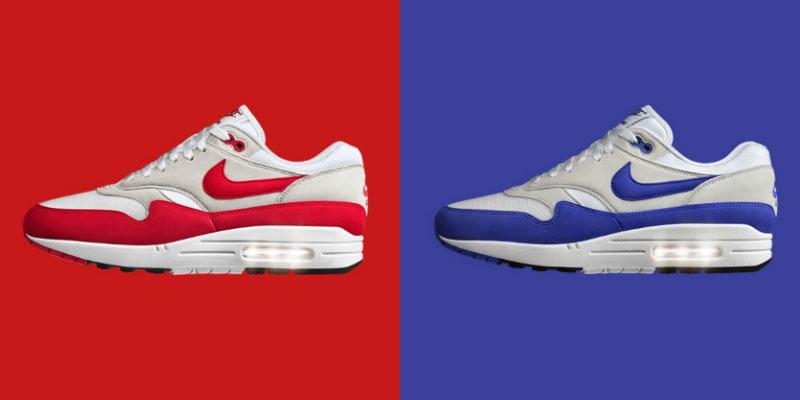 赤と青のエアマックス1