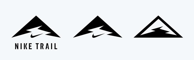 ナイキトレイルランニングのロゴ